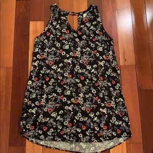 Old Navy Womens XLarge Floral Dress